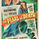 The Pearl Of Death 1944 Vintage Movie Poster Reprint 3