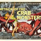 Attack Of The Crab Monsters 1957 Vintage Movie Poster Reprint 14