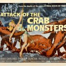 Attack Of The Crab Monsters 1957 Vintage Movie Poster Reprint 15