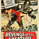 Revenge Of The Creature 1955 Vintage Movie Poster Reprint 38