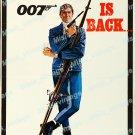 On Her Majesty S Secret Service 1970 Vintage Movie Poster Reprint 3
