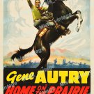 Home On The Prairie 1939 Vintage Movie Poster Reprint 6