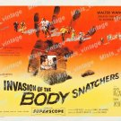 Invasion Of The Body Snatchers 1956 Vintage Movie Poster Reprint 47