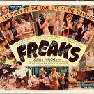 Freaks 1940 Vintage Movie Poster Reprint 11