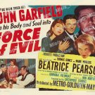 Force Of Evil 1948 Vintage Movie Poster Reprint 2