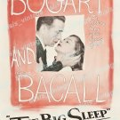 The Big Sleep 1946 Vintage Movie Poster Reprint 36