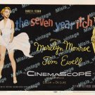 The Seven Year Itch 1955 Vintage Movie Poster Reprint 17