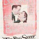 The Big Sleep 1946 Vintage Movie Poster Reprint 35