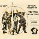 The Three Musketeers 1921 Vintage Movie Poster Reprint 4