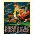 Riders Of The Purple Sage 1931 Vintage Movie Poster Reprint
