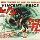 The Fly Return Of The Fly 1960 Vintage Movie Poster Reprint