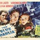 The Blue Dahlia 1946 Vintage Movie Poster Reprint 21