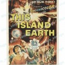 This Island Earth 1955 Vintage Movie Poster Reprint 35