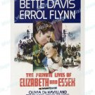 The Private Lives Of Elizabeth And Essex 1939 Vintage Movie Poster Reprint