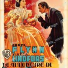 The Adventures Of Don Juan 1956 Vintage Movie Poster Reprint