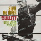 Bullitt 1968 Vintage Movie Poster Reprint 11