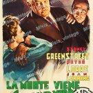 The Verdict 1949 Vintage Movie Poster Reprint