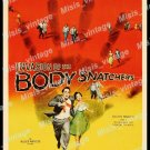 Invasion Of The Body Snatchers 1956 Vintage Movie Poster Reprint 46