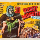 Robot Monster 1953 Vintage Movie Poster Reprint 7