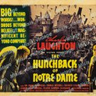 The Hunchback Of Notre Dame 1939 Vintage Movie Poster Reprint 11