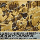Casablanca 1949 Vintage Movie Poster Reprint 77