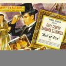 Ball Of Fire 1941 Vintage Movie Poster Reprint 5