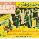The Grapes Of Wrath 1940 Vintage Movie Poster Reprint 11