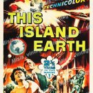 This Island Earth 1955 Vintage Movie Poster Reprint 33