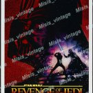 Revenge Of The Jedi 1982 Vintage Movie Poster Reprint 15