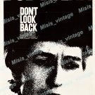 Don T Look Back 1967 Vintage Movie Poster Reprint 2