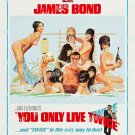 You Only Live Twice 1967 Vintage Movie Poster Reprint 31