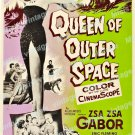 Queen Of Outer Space 1958 Vintage Movie Poster Reprint 3