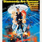 Diamonds Are Forever 1971 Vintage Movie Poster Reprint 3