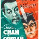 Charlie Chan At The Opera 1936 Vintage Movie Poster Reprint 2