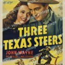 Three Texas Steers 1939 Vintage Movie Poster Reprint 9