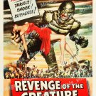 Revenge Of The Creature 1955 Vintage Movie Poster Reprint 37