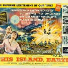 This Island Earth 1955 Vintage Movie Poster Reprint 31