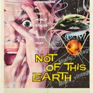 Not Of This Earth 1957 Vintage Movie Poster Reprint 4