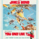 You Only Live Twice 1967 Vintage Movie Poster Reprint 30