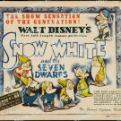 Snow White And The Seven Dwarfs 1937 Vintage Movie Poster Reprint 46