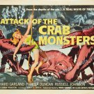 Attack Of The Crab Monsters 1957 Vintage Movie Poster Reprint 13