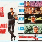You Only Live Twice 1967 Vintage Movie Poster Reprint 29