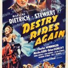 Destry Rides Again 1939 Vintage Movie Poster Reprint 6