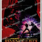 Revenge Of The Jedi 1982 Vintage Movie Poster Reprint 14