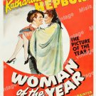 Woman Of The Year 1942 Vintage Movie Poster Reprint 9