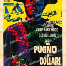 A Fistful Of Dollars 1968 Vintage Movie Poster Reprint 26