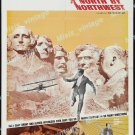North By Northwest 1966 Vintage Movie Poster Reprint 21