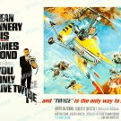 You Only Live Twice 1967 Vintage Movie Poster Reprint 28