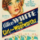 The Girl From Woolworth S 1929 Vintage Movie Poster Reprint