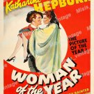 Woman Of The Year 1942 Vintage Movie Poster Reprint 8